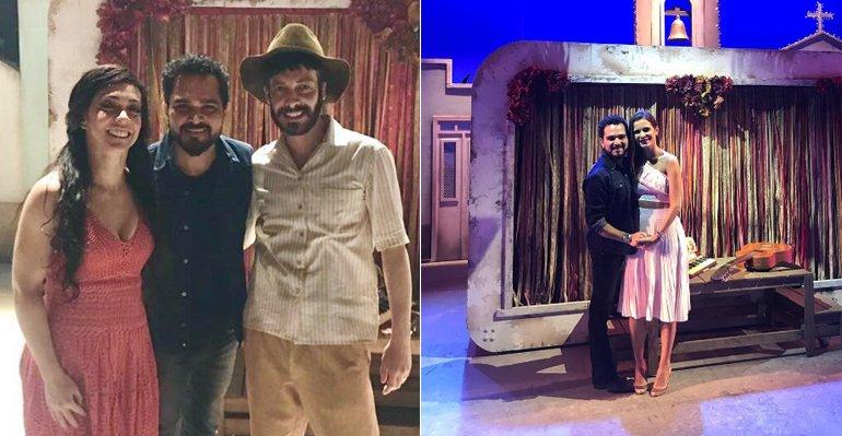Luciano visita os bastidores do musical Dois Filhos de Francisco --> https://t.co/e8XR31yzPl