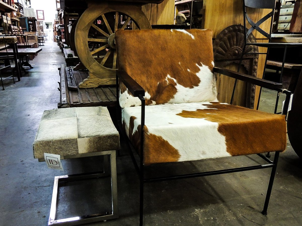 Indus Design Imports On Twitter Cowhide Club Chair And