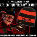 """Get the new """"Freddy"""" beanie for Halloween! Inspired by one of our favorite slashers...  Order yours today: https://t.co/cg8zSTBAsq"""