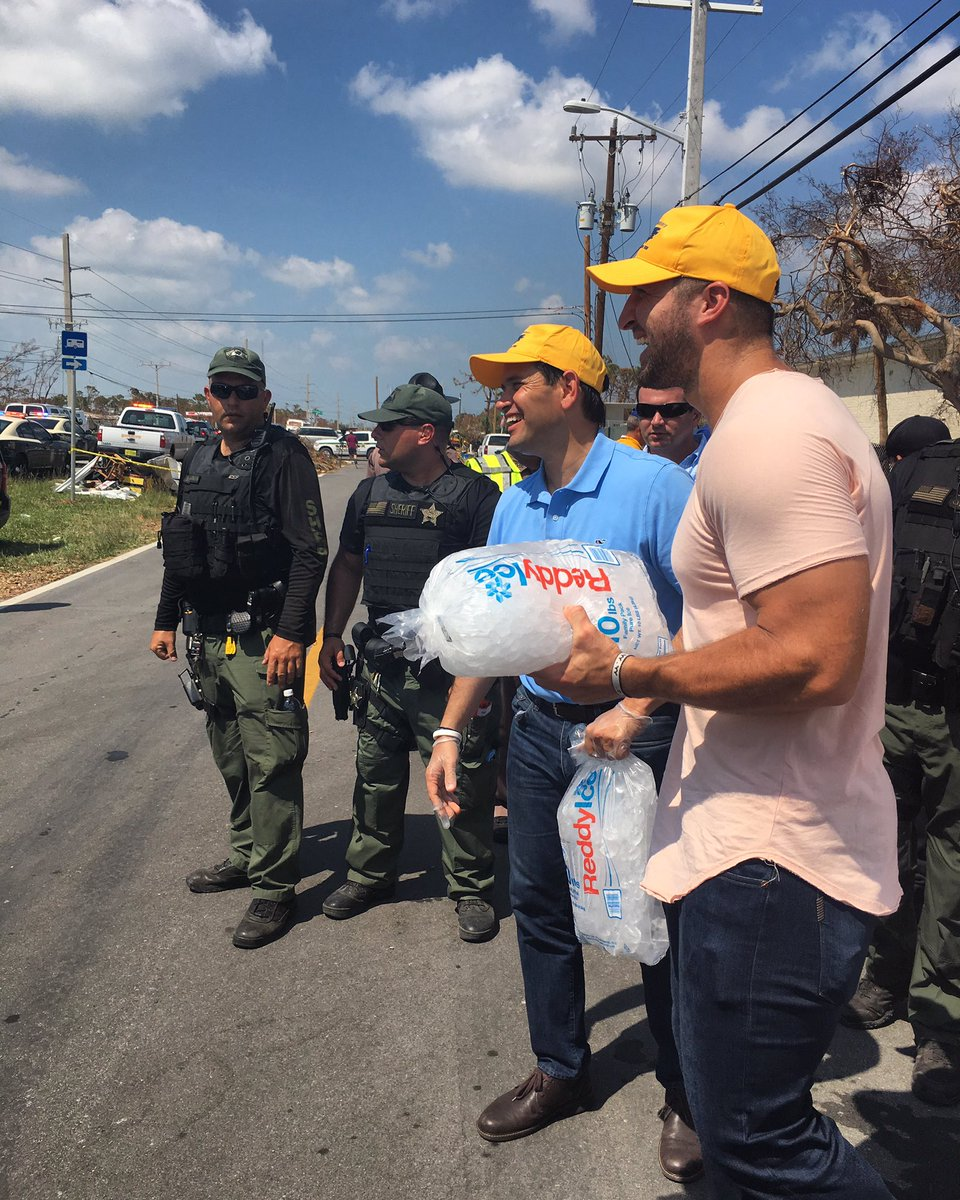 So grateful for opportunity to serve the resilient citizens of the Florida Keys alongside @marcorubio #Irma #IrmaRecovery #floridastrong<br>http://pic.twitter.com/pYObOG7KPN