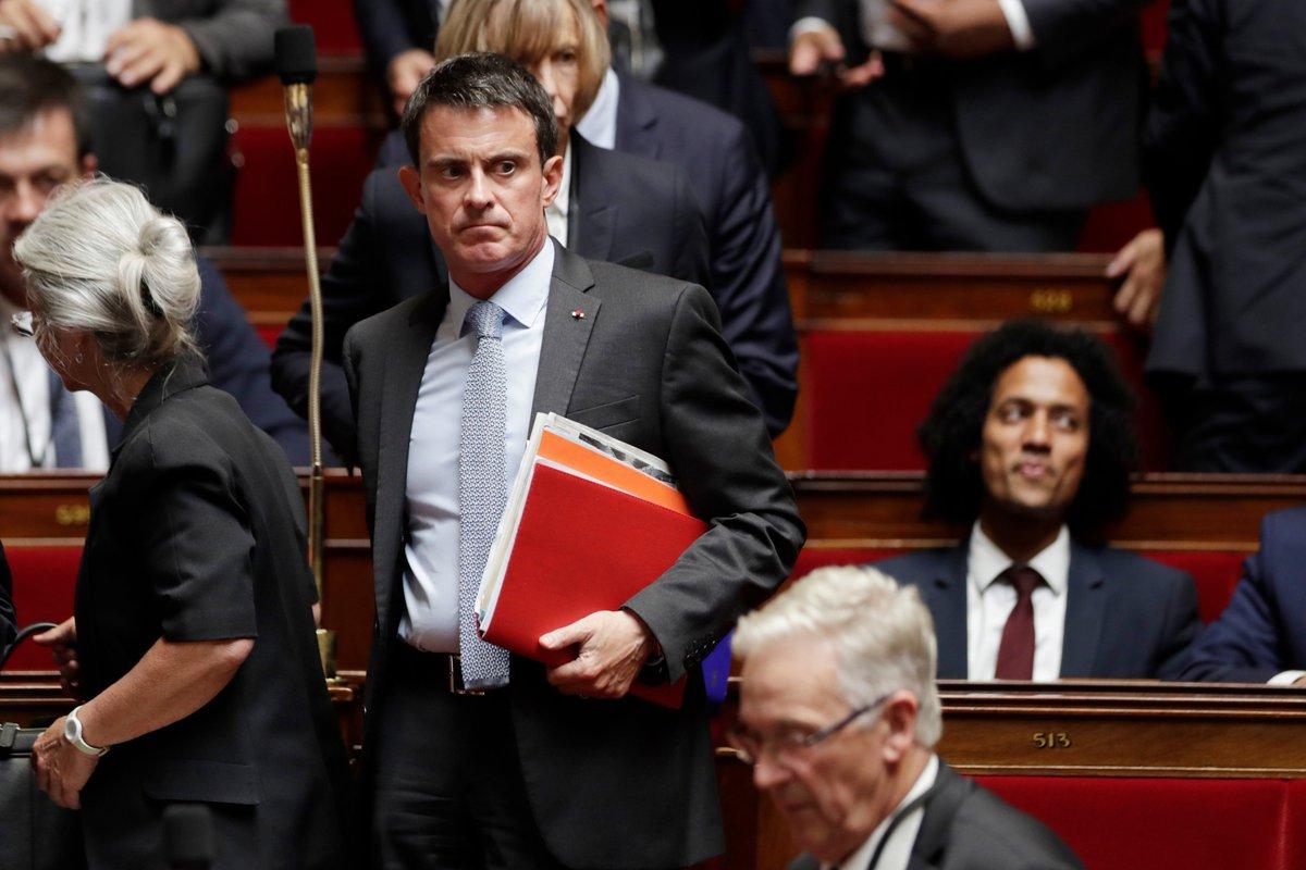 Loi Travail: Valls encourage Macron à 'tenir bon' https://t.co/s22Q7KSJo9