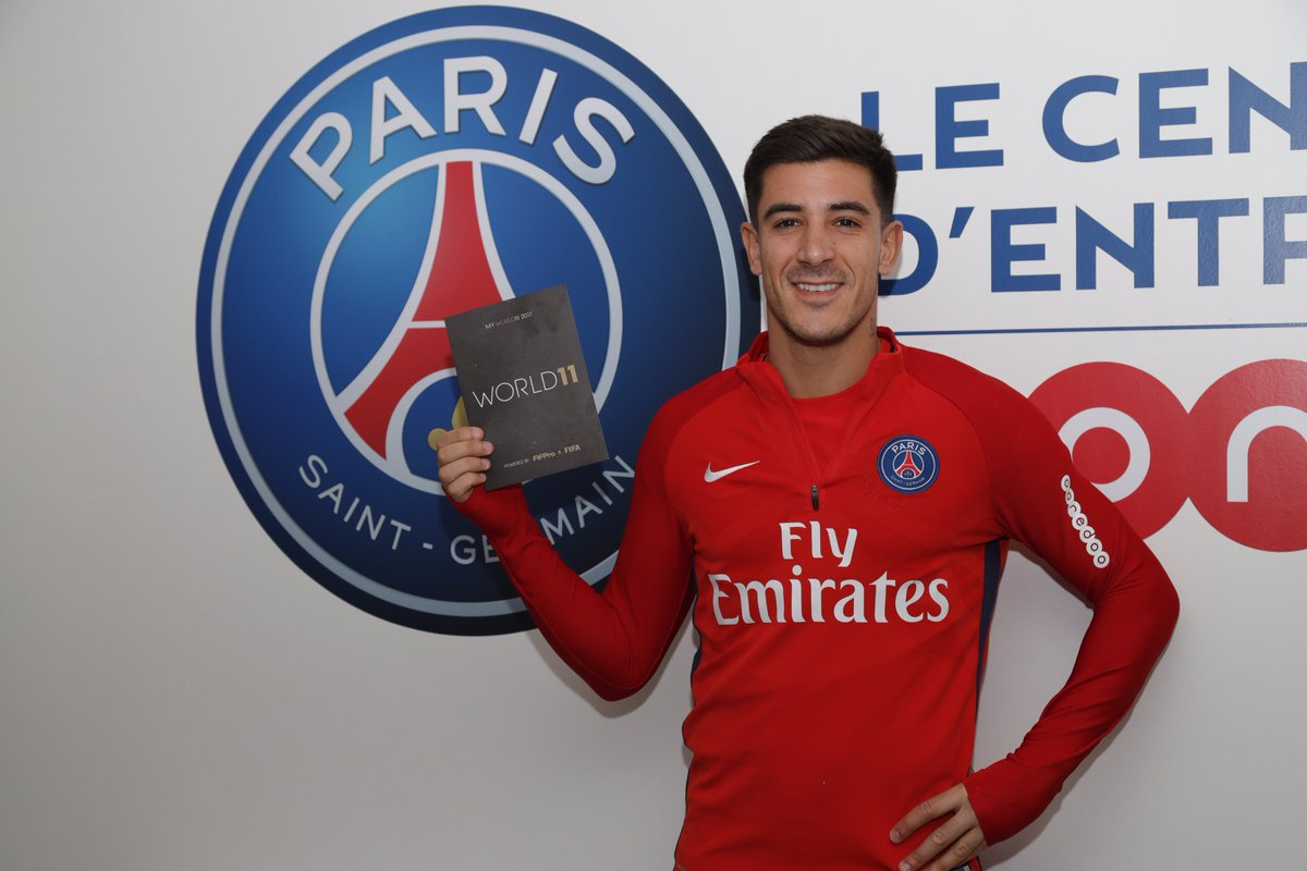 PSG players cast their votes for the @World11 📩  ▶️