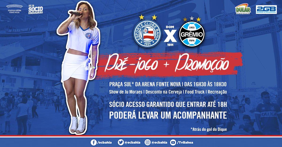 🍺 Mais uma novidade: das 16h30 às 18h30, o 'Happy Hour Tricolor' também terá cerveja mais barata na Praça Sul da Arena Fonte Nova #BBMP