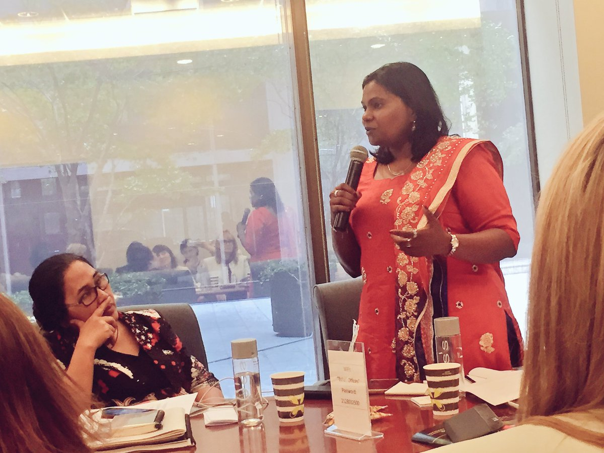 &quot;We need to build bridges, not walls. And no one is more qualified to do this than women&quot; @KasthuriPatto to @religions4peace #genderequality <br>http://pic.twitter.com/jObprCPt8T &ndash; at United Nations
