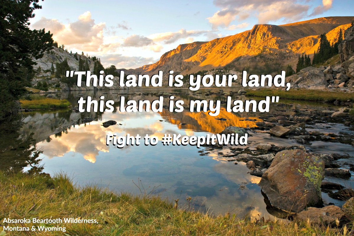 Are you #PublicLandsProud? ACT NOW to make sure Congress doesn&#39;t undermine #publiclands, #Wilderness &amp; #wildlife:  http:// bit.ly/2j82bkr  &nbsp;  <br>http://pic.twitter.com/2E5e8JXOCn