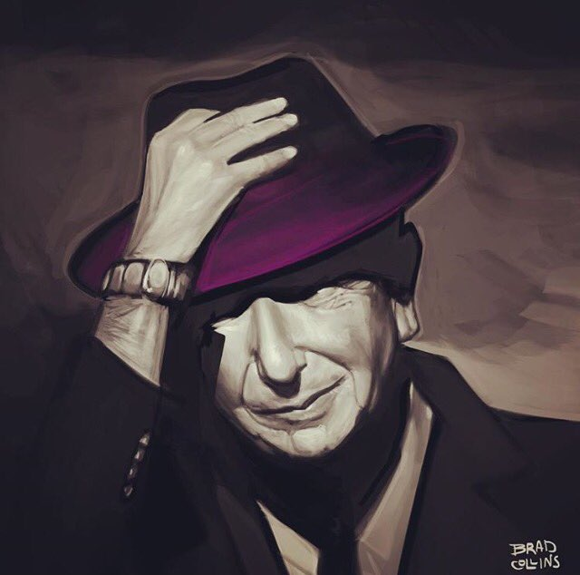 Ring the bells that still can ring.   Happy Birthday Leonard Cohen. Happy Autumn.