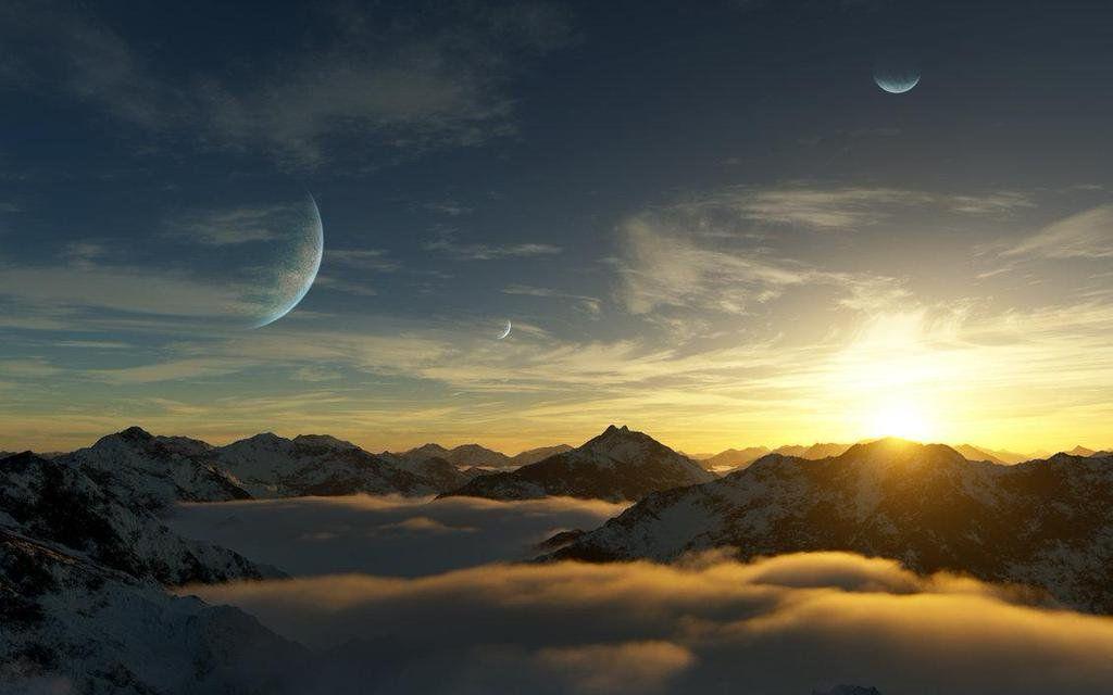 #Space #Art: artist impression of #exoplanet &quot;Gliese 581d&quot; by DarinK  http:// darink.deviantart.com/art/Gliese-581 -d-171790134 &nbsp; …  via @deviantART<br>http://pic.twitter.com/03WpKUDCZ0