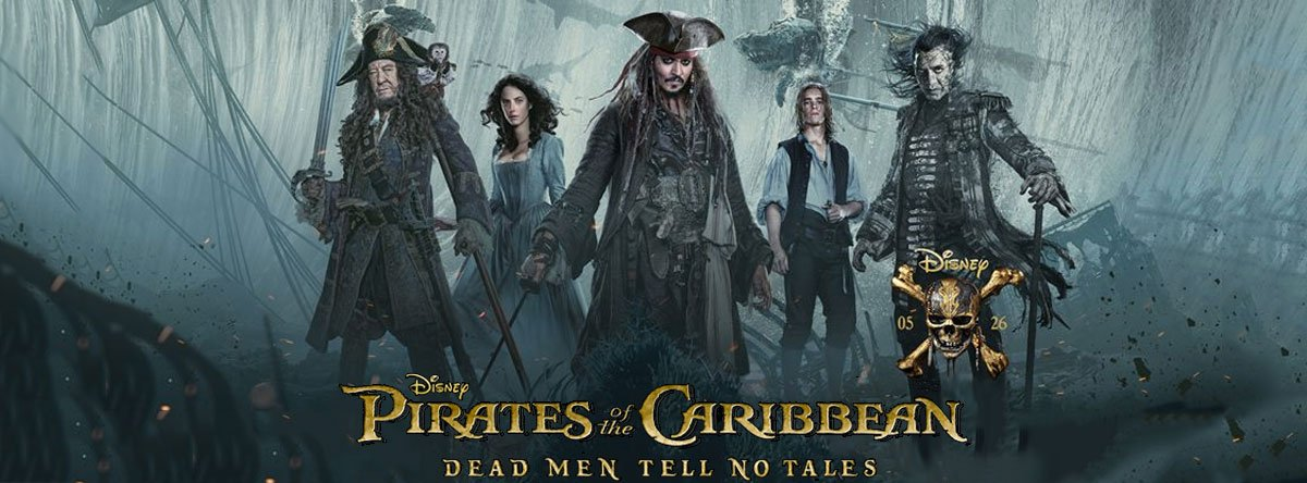 #PiratesoftheCaribbean5 Scodelario is spirited, Bardem creepy &amp; there&#39;s some huge imaginative set pieces. Otherwise the usual tedious bollox <br>http://pic.twitter.com/5ljHppoE3f