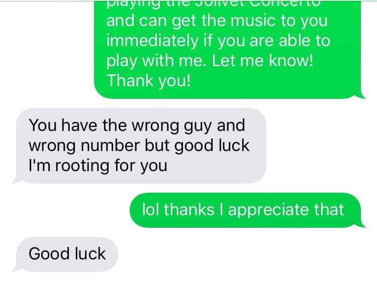 Text strangers