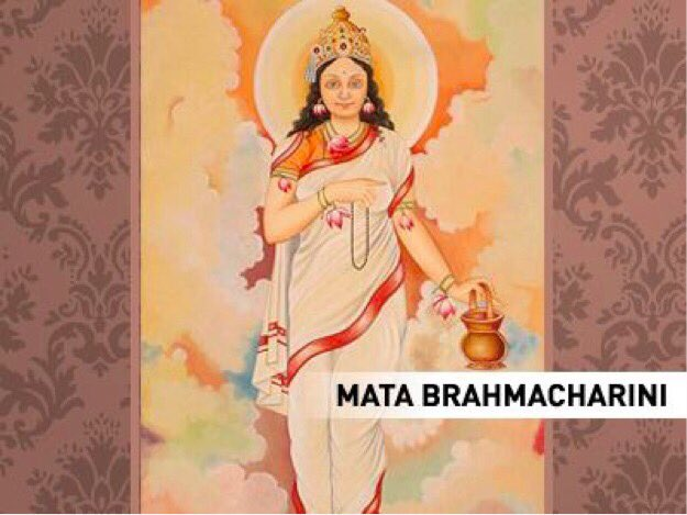 On Day 2 of Navratri we pray to Maa Brahmacharini for her continuous blessings. Here is a Stuti. https://t.co/I7TybjKFxa