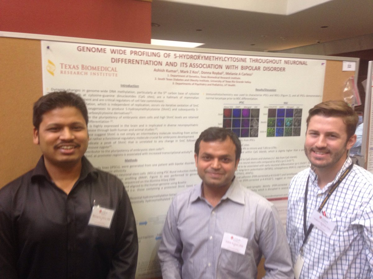 Thank you! @UTHealthSA @UTSAResearch @UTSA @txbiomed for a fun-filled #Poster #judging session for #SanAntonio #Postdoc #Research Forum! :)<br>http://pic.twitter.com/mcvOepRK7k