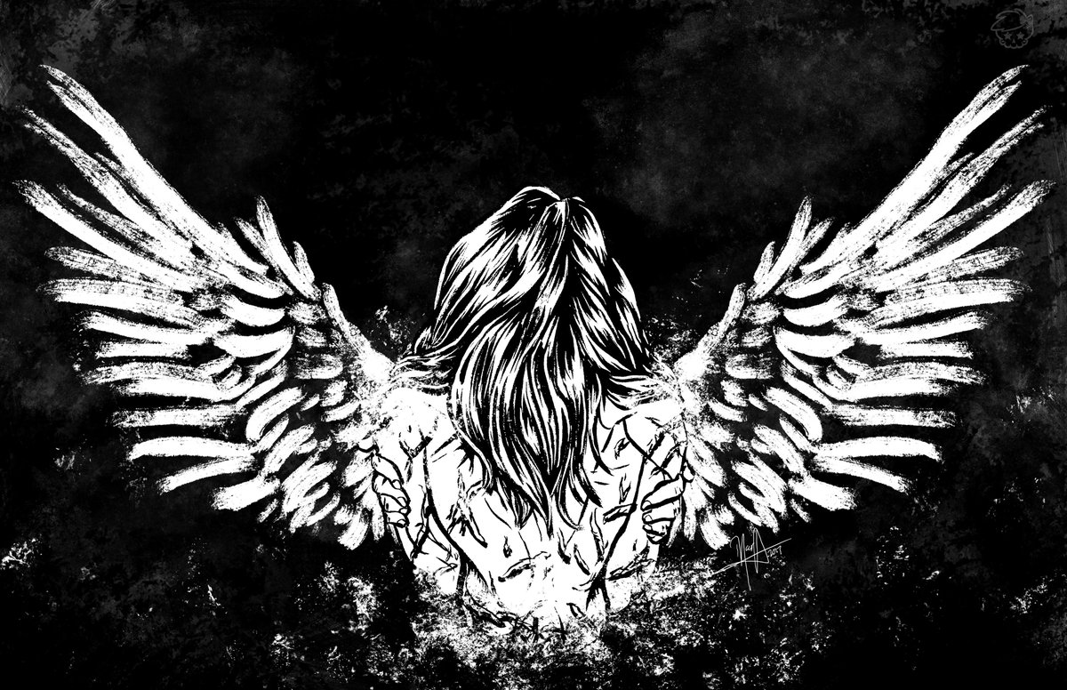 They don't even know you, all they see are scars But they don't see the angel living in your heart @SixxAM #illustration #metalocalypse #art<br>http://pic.twitter.com/3BzdbuthbW
