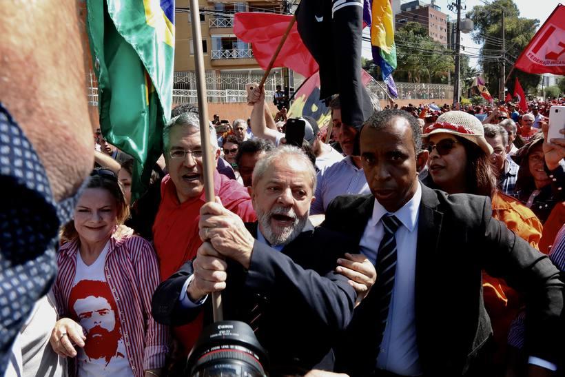 'Estamos convictos de que #Lula será nosso candidato', diz Gleisi https://t.co/h9ZfvK0oSv