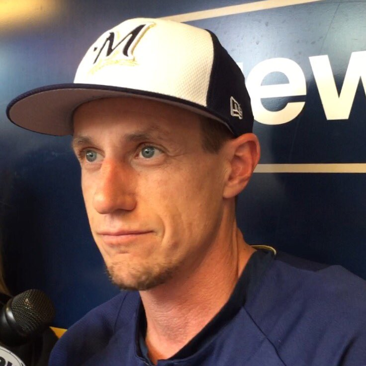Craig Counsell hasn't shaved since Chicago. That was 10 days ago.