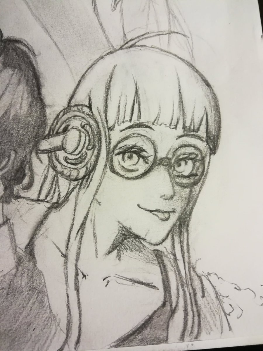 Futaba ready to hack into people&#39;s hearts! #Persona5 #atlus #art #doodles<br>http://pic.twitter.com/LVO4QJrLMw