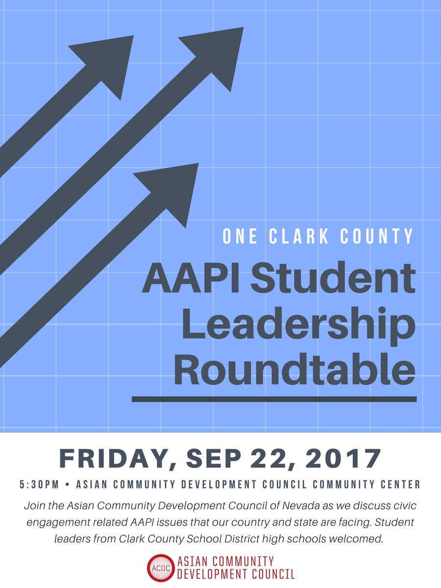 Hosting a roundtable event tomorrow for #AAPI @ClarkCountySch students! Last minute RSVPs go here:  https:// goo.gl/forms/Ad1EozGG ybOCYlyD2 &nbsp; …  ! #AAPI @ACDCNV<br>http://pic.twitter.com/HT4W99rGKA