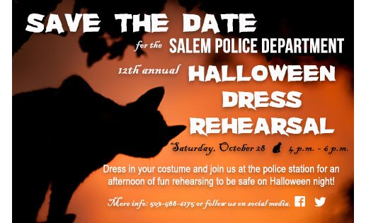 Image result for dress rehearsal salem police department