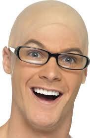 Looking bald guy