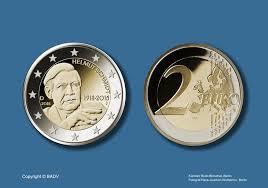 Thomas Altgeld On Twitter Neue 2 Euro Münze 2018 Finanziminister
