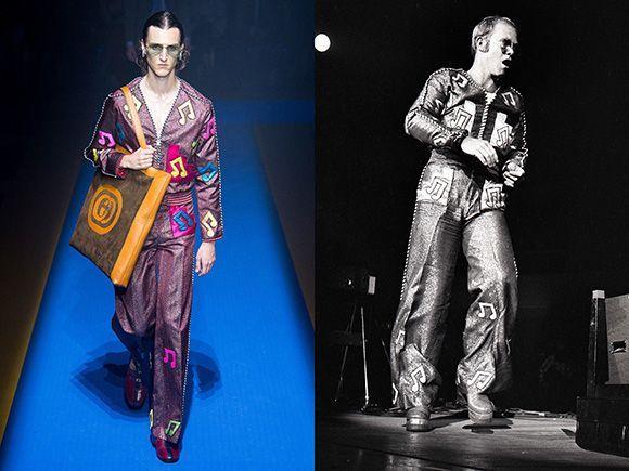Depois de tantas homenagens brilhantes, a melhor #Guccification: @BobMackie. https://t.co/bOjRdTZV9U