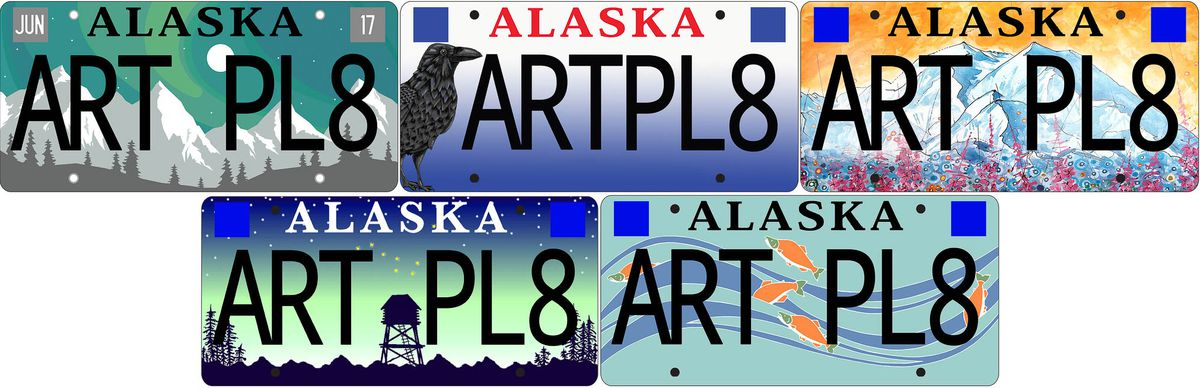 Alaska unveils the finalists in its license plate design contest — and you can help pick the winner https://t.co/pqq0lK8mEh