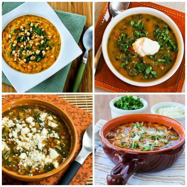 Here are are Ten Amazing Meatless Monday Soup Recipes for Fall! The soups are all #LowGlycemic and #GlutenFree. >>> https://t.co/R8ql9ZKGDQ