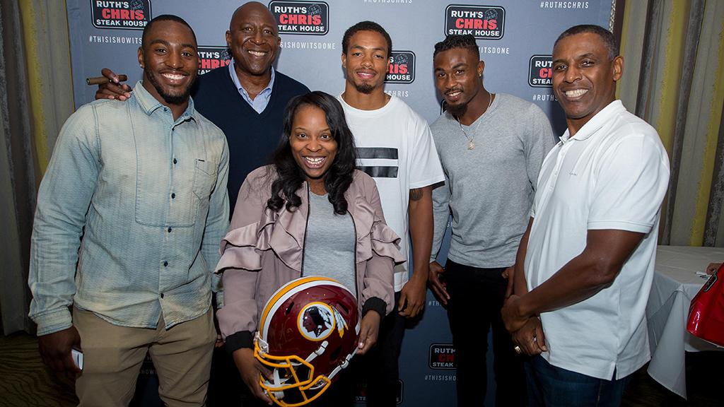 Want to mingle with #Redskins players? @RuthsChris in Bethesda is making it possible on Monday, 9/25!   More info: https://t.co/Fpeu4xKMPL