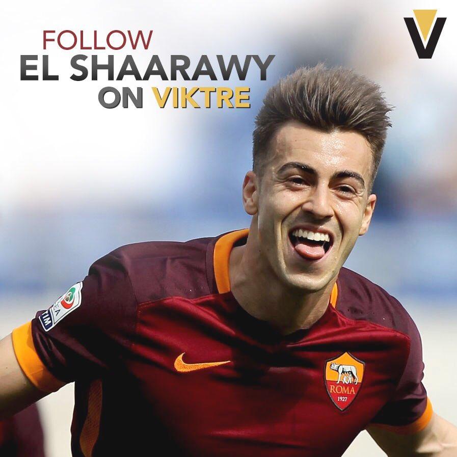 Follow Stephan El Shaarawy on VIKTRE today!  #ASR #Azzurri #SerieA  Link:  https://www. viktre.com/elshaarawy/fol low-me-on-viktre &nbsp; … <br>http://pic.twitter.com/0QlMDX13jA