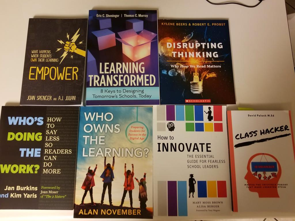 Here&#39;s my next line up of books to read! What are you all reading? #edchat <br>http://pic.twitter.com/zr4oQaDLWv