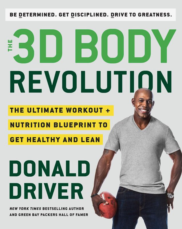 Congrats @Donald_Driver80 on a great read. I feel healthier already💪😁