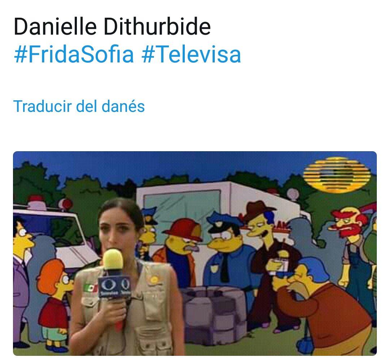 Nada mas cerca de la realidad #FridaSofia #Televisa  #DanielleDithurbide #laimagendeldia