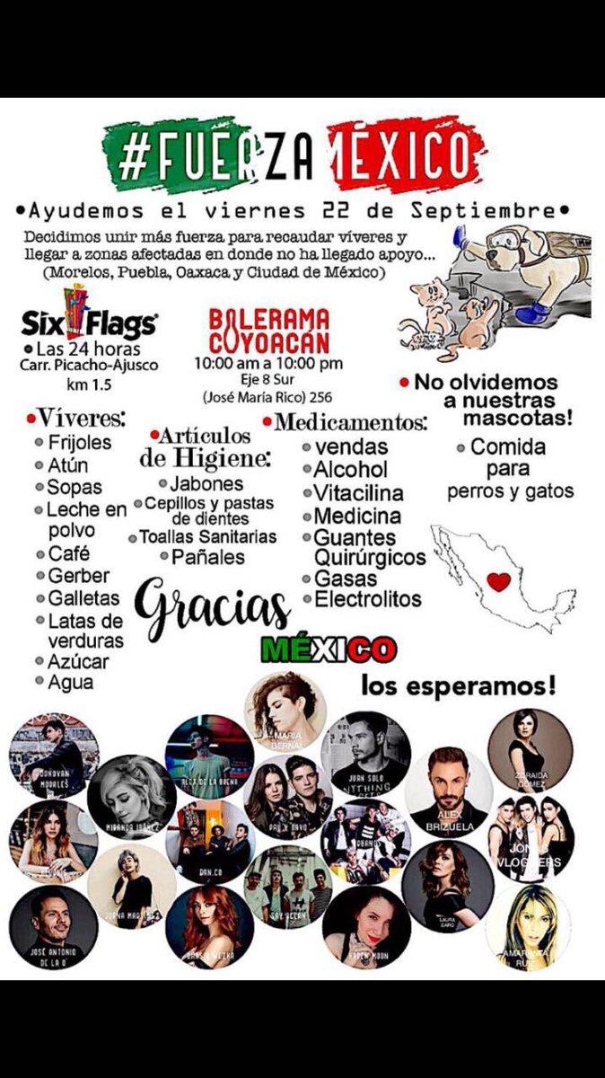 Amigos se abre centro de acopio ⚠️ #rt #fuerzamexico https://t.co/sM6sajDY2D