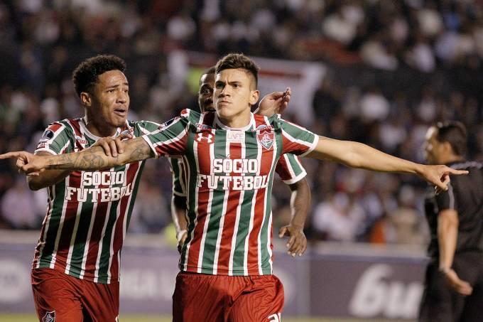 Sul-americana: @FluminenseFC elimina @LDU_Oficial e fará clássico contra o @Flamengo  https://t.co/T61F5BOrTs