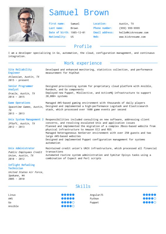 kickresume on twitter looking for a stand out resume that will