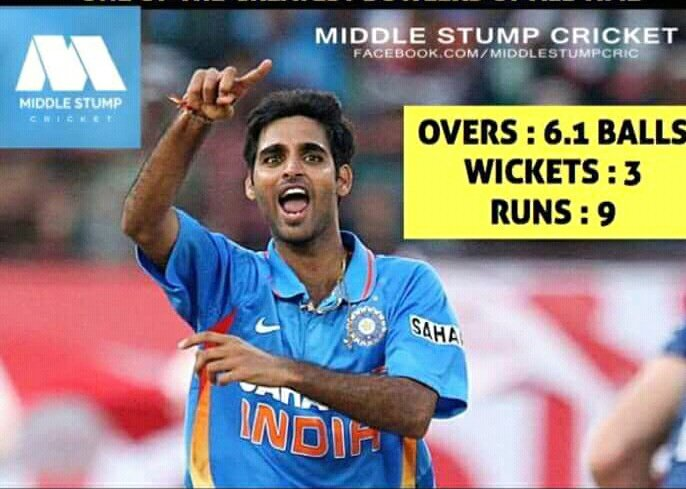 Unseen hero of yesterday match @BhuviOfficial @IndianCricketTm #no1 #Odi #champion https://t.co/jOIEvK4NJP