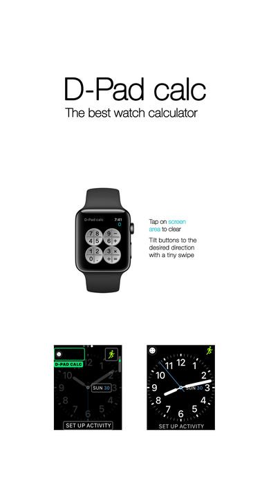 2nd Chance #GIVEAWAY! Follow us &amp; retweet to win D-Pad calc - The best watch calculator #app for #AppleWatch!  https:// goo.gl/e7JkSz  &nbsp;  <br>http://pic.twitter.com/SH3rDm9qx4