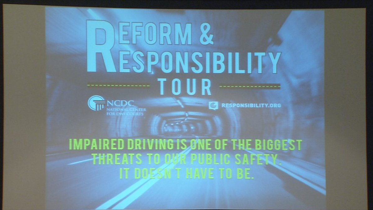 Reform and Responsibility Tour stops in Louisville in effort to prevent impaired driving accidents: https://t.co/L8Ao8hIuuS