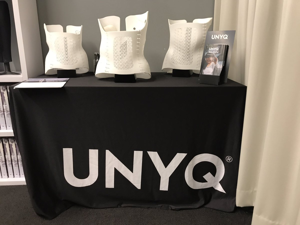 New @unyq #SanFrancisco #PopUp clinic showcasing the UNYQ Align #scoliosis brace #health #retail #reimagine<br>http://pic.twitter.com/8n02djhyVr