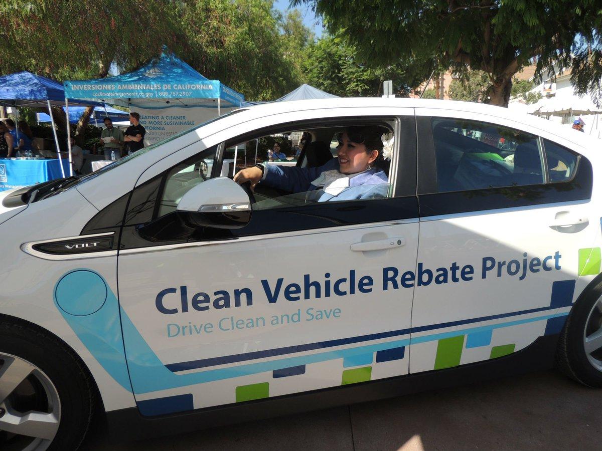 Clean Vehicle Rebate >> Clean Vehicle Rebate On Twitter 232 Test Drives 15