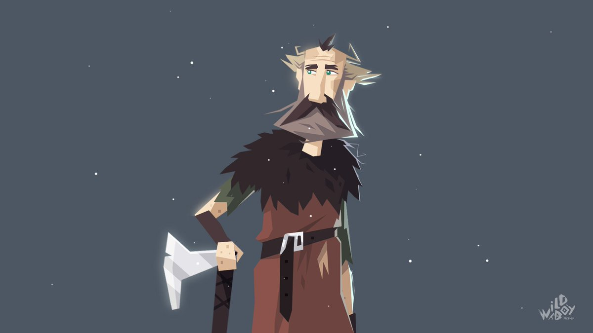 Old man Wulf. #atonethegame  #design #IndieGame #gamedev #indiedev #characterdesign #Character #game #videogame #art #illustration #Vector<br>http://pic.twitter.com/xCcujsTS6P