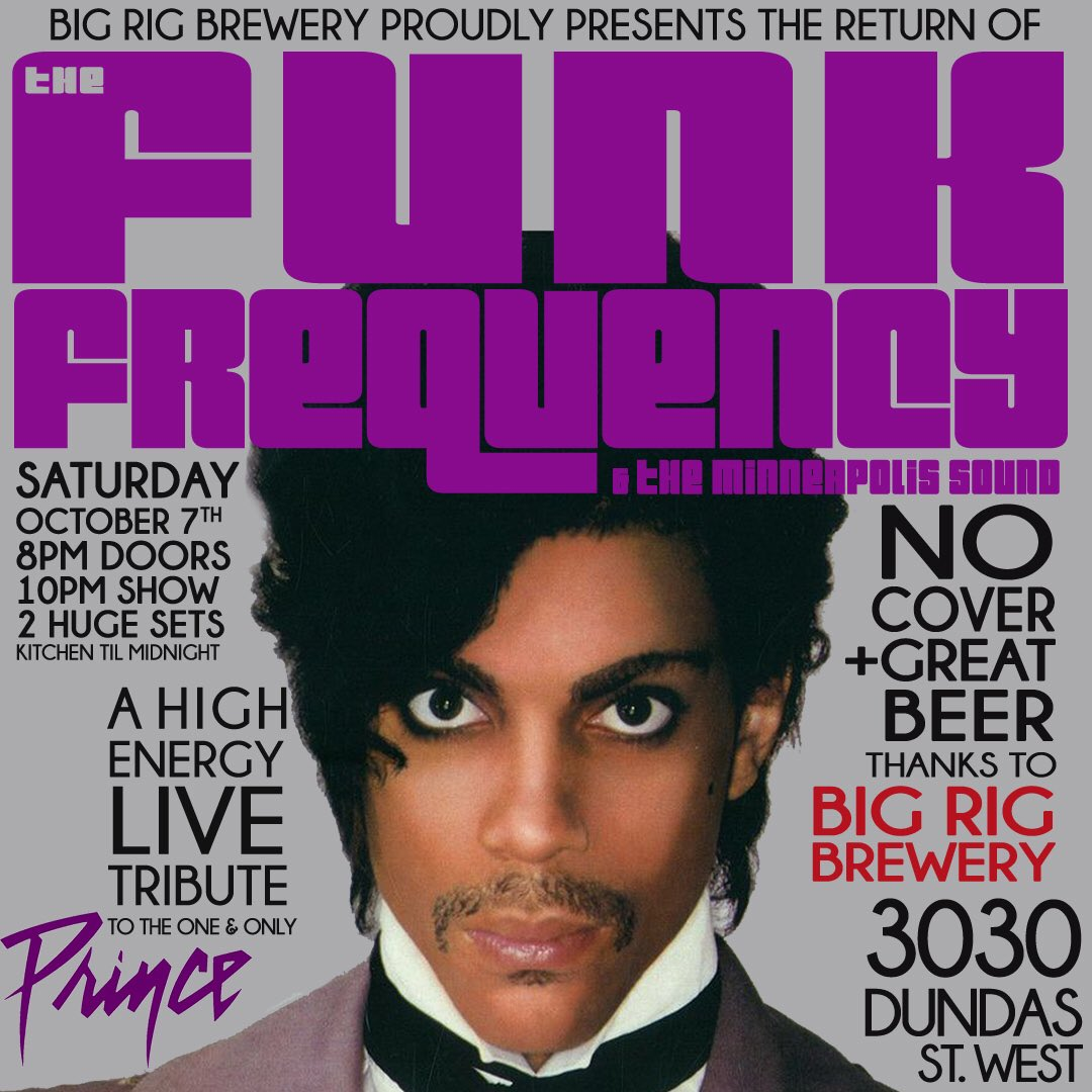 We gonna get #Controversial ~ Sat. Oct 7 ~ @3030DundasWest #PrinceTribute #MPLS #TorontoLiveMusic #FunkNRoll<br>http://pic.twitter.com/ovNH4PHvzK