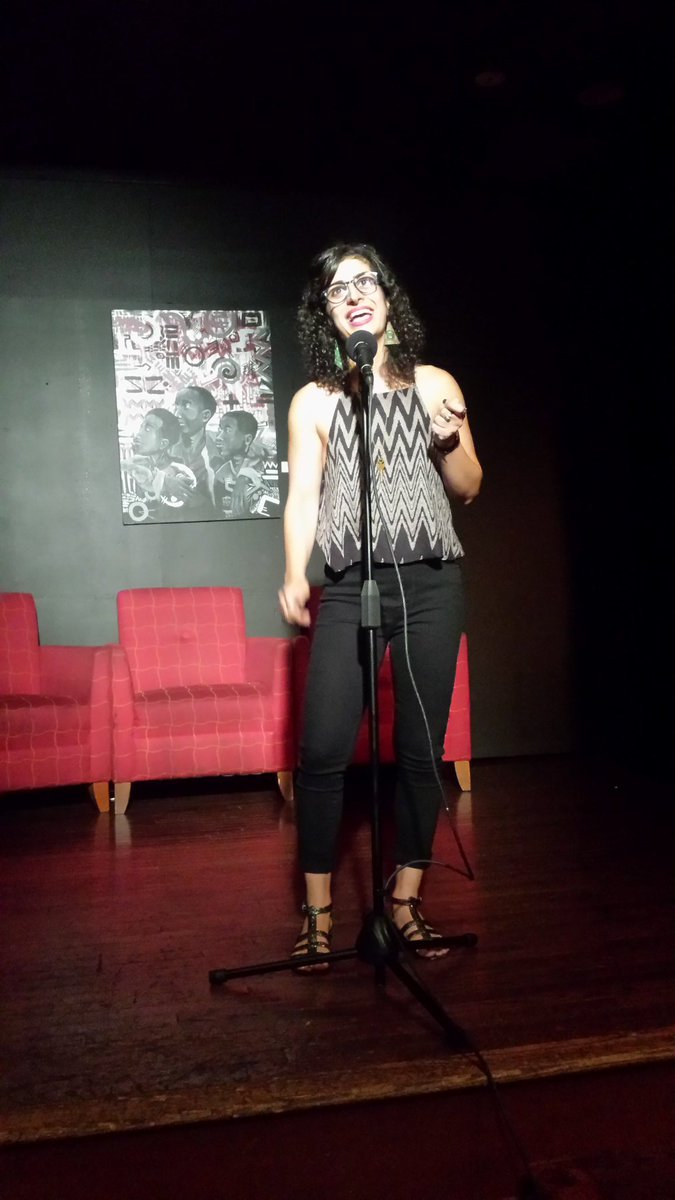 Tonight&#39;s @story_collider DC featured 4 women scientists including @500womensci&#39;s own @webmz_, who is also the amazing new host #womeninSTEM <br>http://pic.twitter.com/rrwm5wxe42