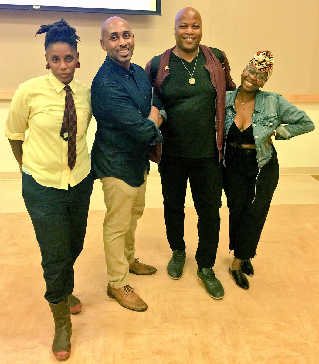 Ccc At Cal State La On Twitter Blaqueer Scholar Magic W Lynneedenise Derraiscarter Zoe Samudzi Queering The Mic Event At Calstatela Earlier This Week Https T Co K1f9hhk9ch