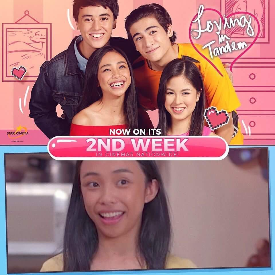 Rise and SHINE ❤️ Head to the nearest cinema and watch #LovingInTandem 😍 #LovingInTandem2ndWeek