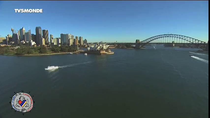 En direct de l'un des lieux les plus magiques au monde : la baie de Sydney ! 😍 #TDMF