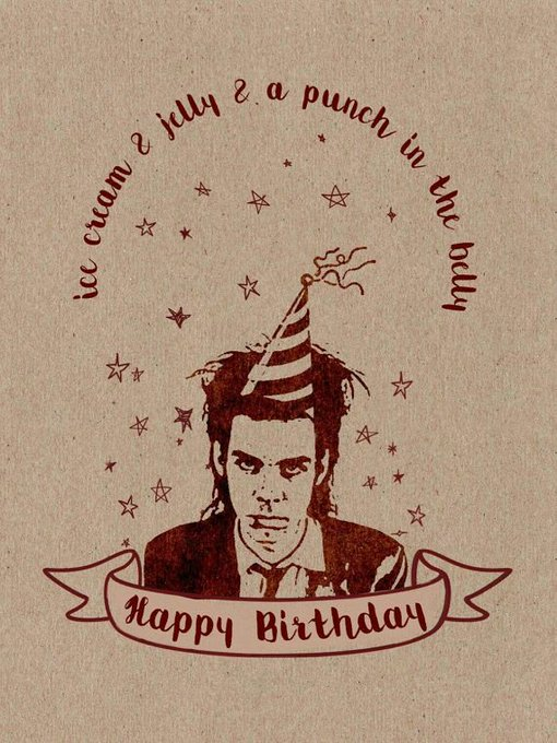 Happy Birthday Nick Cave   Nick Cave and the Bad Seeds - Red Right Hand