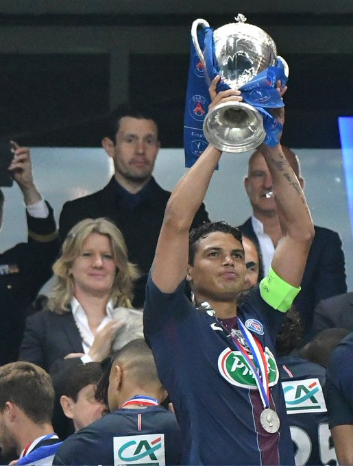 Ligue 1    Coupe de France   Coupe de la Ligue    Happy birthday to PSG and Brazil\s captain, Thiago Silva