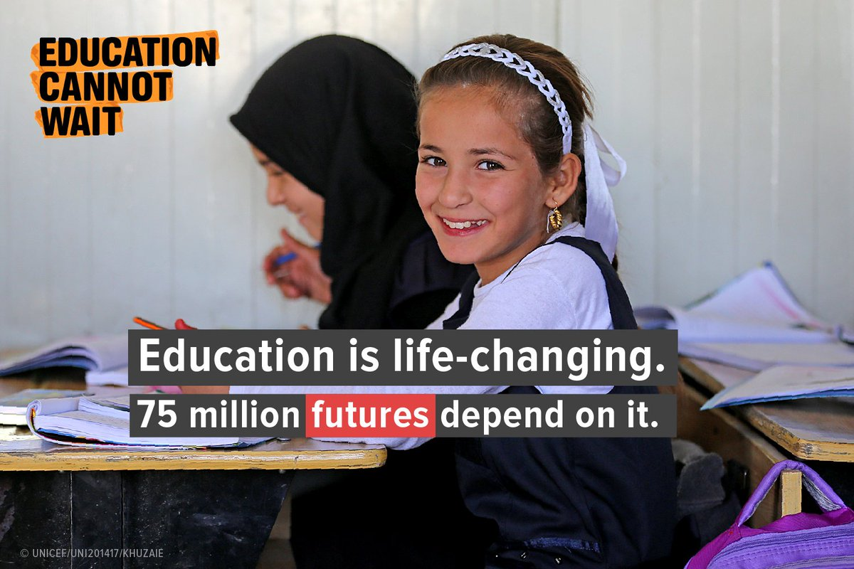 If the world is to meet the #SDGs then we must make education a priority today! New commitment   http:// europa.eu/!hu87uf  &nbsp;   #FundEducation<br>http://pic.twitter.com/lC1JhVXUyZ