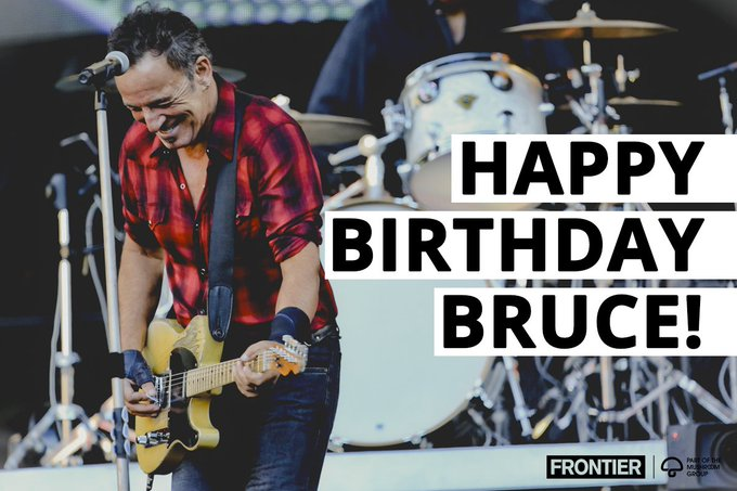 A big happy birthday to the one and only Bruce  Photo: Lisa Businovski