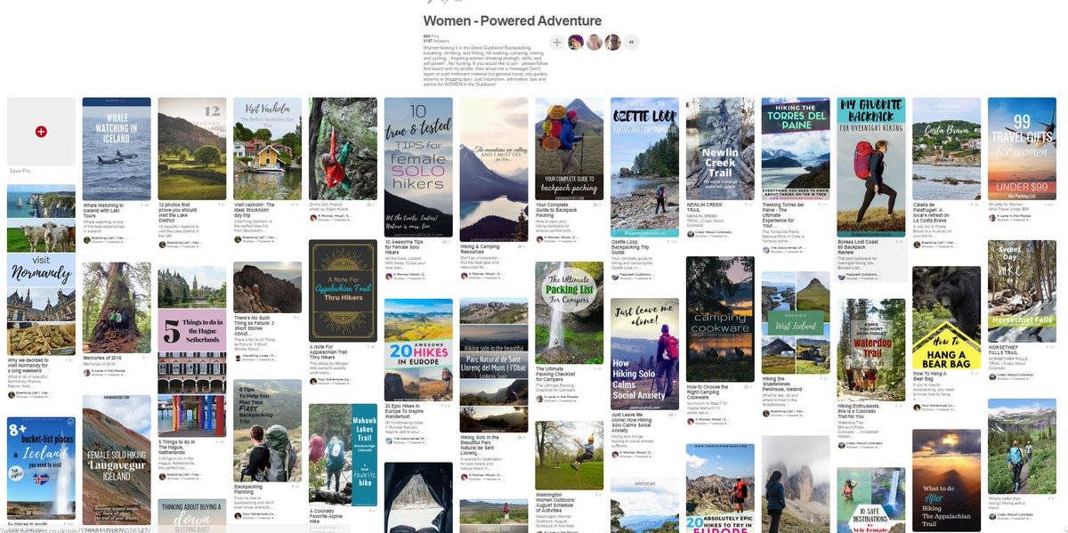 Hi, Ladies! Would you like to join my #pinboard? It&#39;s all about women #hiking #skiing #kayaking #adventuring :)   http:// bit.ly/2fFCkQn  &nbsp;  <br>http://pic.twitter.com/fHikdXL55S